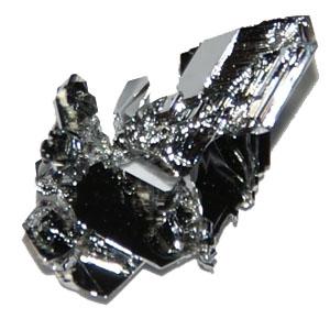 Ruthenium krystal (platinmetal)