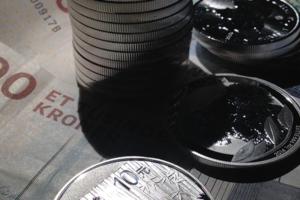 Sølvmønter (finsølv) og dansk valuta