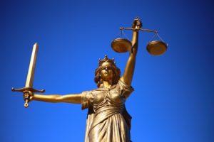 Justitia retfærdighedens gudinde (statue)
