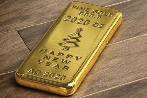Guldbar 2020 oz (Happy New Year)