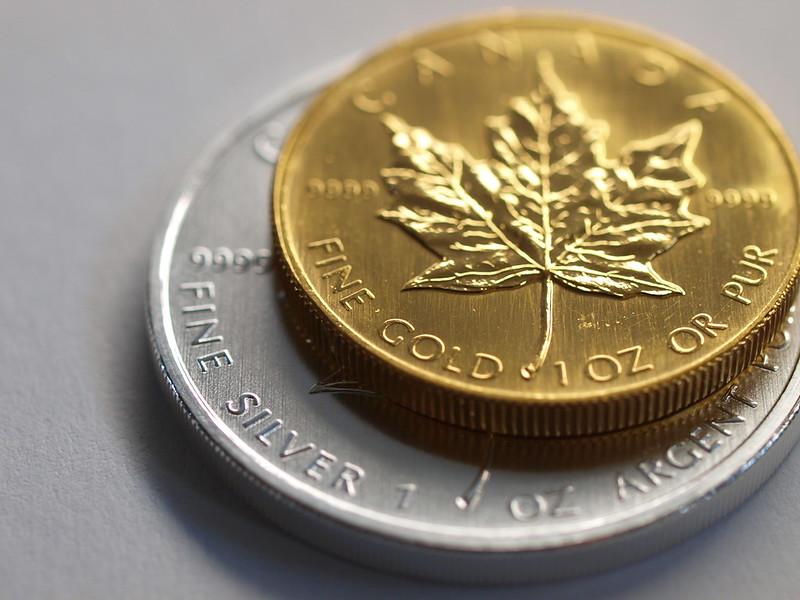 Guld/sølv ratio i 5.000-årig rekord